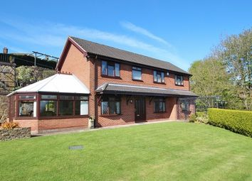 Thumbnail 5 bed detached house for sale in Bryn Y Gaer Road, Pentre Broughton, Wrexham