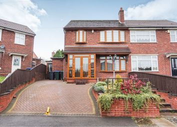 Thumbnail 3 bed semi-detached house for sale in Willow Road, Great Barr