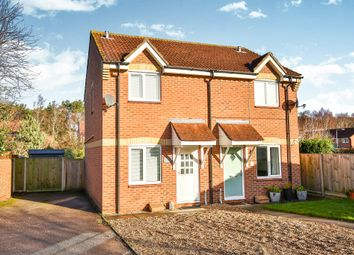 Thumbnail 2 bed semi-detached house for sale in Kingswood Avenue, Taverham, Norwich