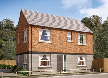 "Thumbnail 3 bed semi-detached house for sale in ""The Dalton"" at Burton Street, Market Harborough"