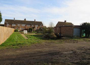 Thumbnail Land for sale in Manor Close, Witchford, Ely