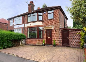 Thumbnail 3 bedroom semi-detached house for sale in Somers Road, Stockport