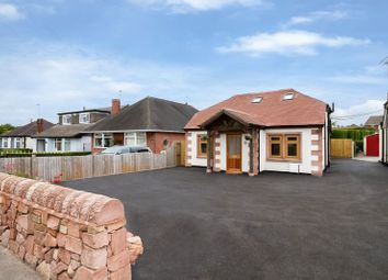 Thumbnail 3 bed detached bungalow for sale in Park Lane, Knypersley, Staffordshire