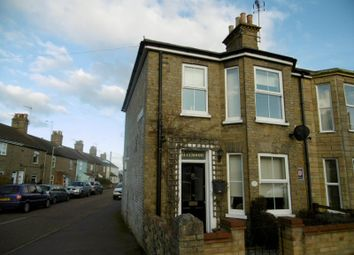 Thumbnail 3 bedroom end terrace house to rent in Florence Road, Lowestoft