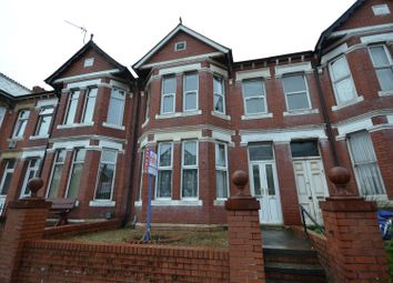 Thumbnail 4 bed terraced house for sale in Gladstone Road, Barry