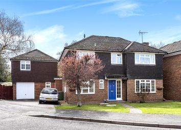 Thumbnail 5 bed detached house for sale in Henley Drive, Frimley Green, Surrey