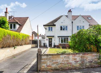 Thumbnail 3 bed semi-detached house for sale in Attenborough Lane, Attenborough, Nottingham