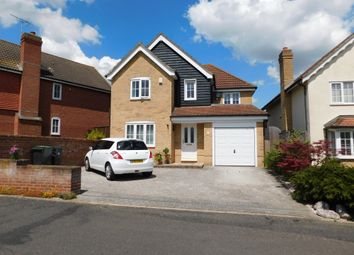 Thumbnail 4 bed detached house for sale in Swallow Drive, Stowmarket, Suffolk
