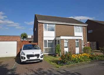 Thumbnail 2 bed semi-detached house for sale in Almond Grove, Hempstead, Kent