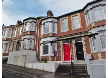 Thumbnail 3 bed terraced house for sale in Lincoln Avenue, Plymouth