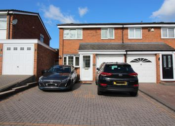 Thumbnail 3 bed end terrace house for sale in Westacre Gardens, Yardley, Birmingham