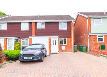 Thumbnail 3 bed semi-detached house to rent in Marlow Close, Fareham