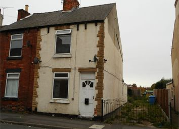 Thumbnail 2 bed end terrace house for sale in Netherton Road, Worksop, Nottinghamshire