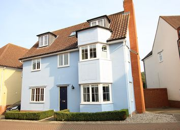 Thumbnail 5 bed detached house for sale in Hereford Drive, Claydon, Ipswich, Suffolk