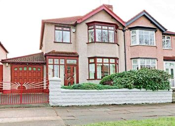 Thumbnail 3 bed semi-detached house for sale in Dunbabin Road, Childwall, Liverpool