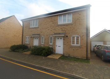 Thumbnail 3 bedroom semi-detached house to rent in Waterland, St. Neots