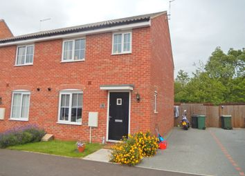 Thumbnail 3 bed semi-detached house for sale in Kelburn Road, Orton Northgate, Peterborough