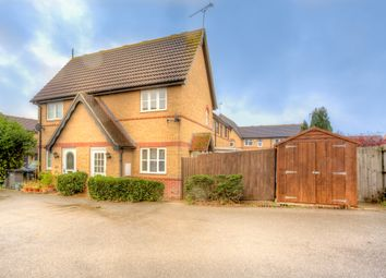 Thumbnail 1 bed semi-detached house to rent in Coalport Close, Newhall, Harlow