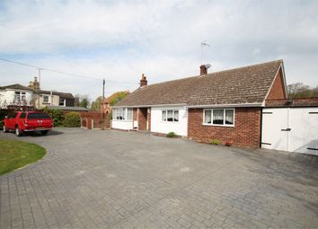 Thumbnail 3 bed detached bungalow for sale in Combs Lane, Stowmarket, Suffolk
