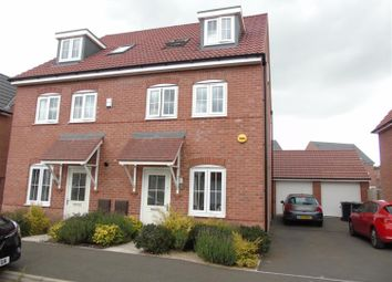 Thumbnail 4 bed semi-detached house for sale in Tacitus Way, North Hykeham, Lincoln