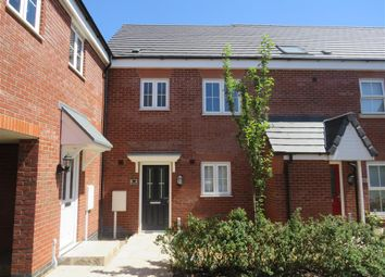 Thumbnail 3 bed terraced house for sale in Aitken Way, Loughborough