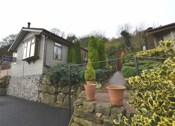Thumbnail 2 bed mobile/park home for sale in Lathkill Lane, Whatstandwell, Matlock