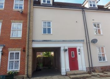 Thumbnail 3 bed flat to rent in Hatcher Crescent, Colchester