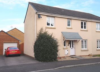 Thumbnail 3 bed semi-detached house for sale in Angel Way, North Cornelly
