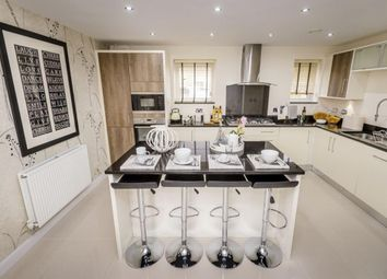 "Thumbnail 4 bed detached house for sale in ""Lincoln"" at Blackpool Road, Kirkham, Preston"
