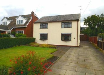 Thumbnail 4 bed detached house for sale in Stone Cross Lane North, Lowton, Warrington