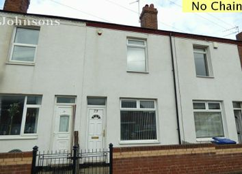 Thumbnail 2 bed terraced house for sale in Trafalgar Street, Carcroft, Doncaster.