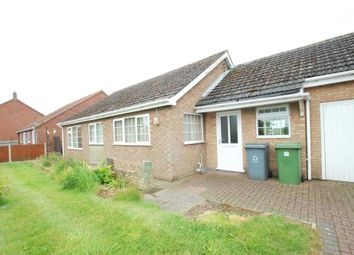 Thumbnail 2 bed detached bungalow to rent in The Common, Freethorpe, Norwich