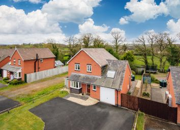Thumbnail 4 bed detached house for sale in Badgers Green, Crossgates, Llandrindod Wells
