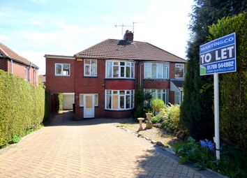 Thumbnail 4 bed semi-detached house to rent in Reresby Road, Whiston, Rotherham