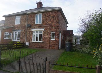 Thumbnail 2 bed semi-detached house to rent in Woodland Crescent, Kelloe, Durham