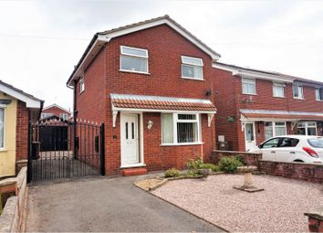 Thumbnail 3 bed detached house for sale in Hillswood Avenue, Leek