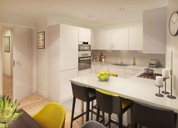 Thumbnail 3 bed flat for sale in Market Street, Addlestone, Surrey
