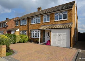 Thumbnail 4 bed semi-detached house for sale in Tanglyn Avenue, Shepperton