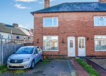 Thumbnail 2 bed end terrace house for sale in Arnold Avenue, South Wigston, Leicester