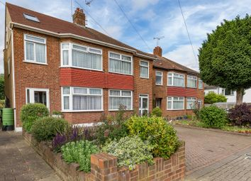 Thumbnail 4 bed semi-detached house for sale in Burnham Close, Enfield