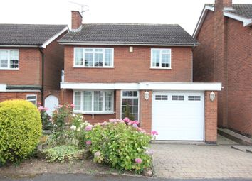 Thumbnail 3 bed detached house for sale in Woodstock Close, Burbage, Hinckley