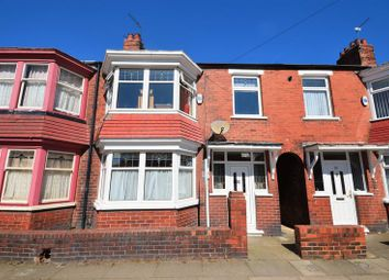 Thumbnail 2 bedroom terraced house for sale in 27 Grove Road, Middlesbrough