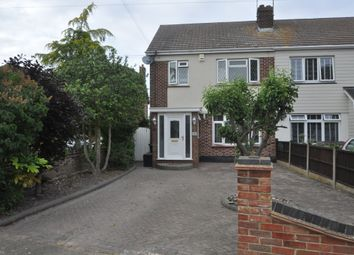 Thumbnail 3 bed semi-detached house for sale in The Chase, Benfleet