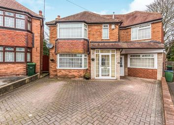 Thumbnail 5 bed detached house for sale in Charlemont Avenue, West Bromwich, West Midlands