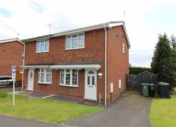 Thumbnail 2 bed semi-detached house for sale in Belvoir Close, Milking Bank, Dudley