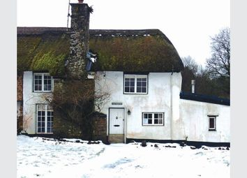 Thumbnail 2 bed cottage for sale in The Thatch Cottage, Alswear, Devon