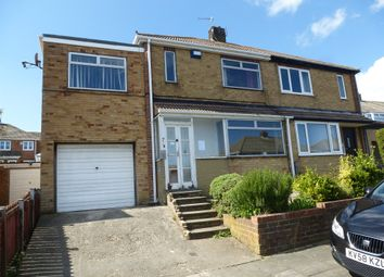 Thumbnail 3 bed semi-detached house for sale in Lulworth Grove, Hartlepool