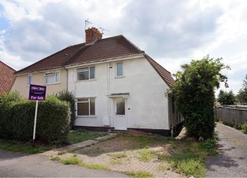 Thumbnail 3 bed semi-detached house for sale in Crossways Road, Knowle Park