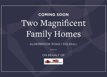 Thumbnail 5 bedroom detached house for sale in Alderbrook Road, Solihull, West Midlands