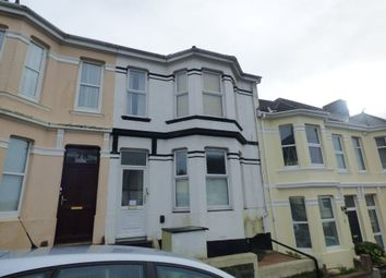Thumbnail 1 bed flat to rent in Craven Avenue, Plymouth, Devon